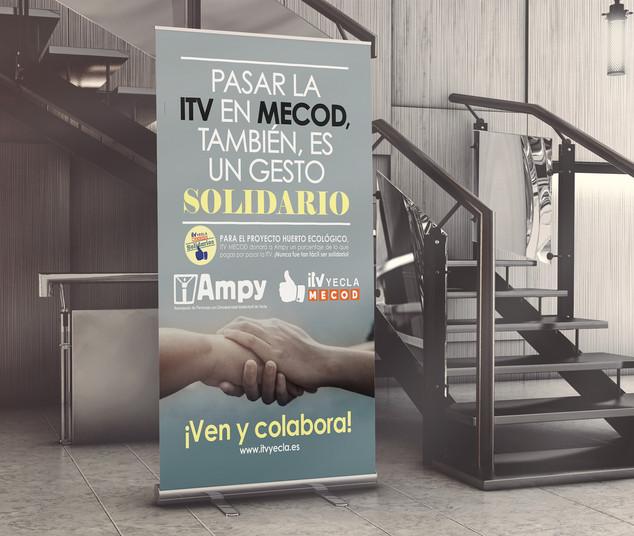 Idea, diseño y producción de campaña solidaria