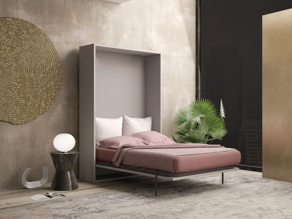 Render 3D de armario-cama
