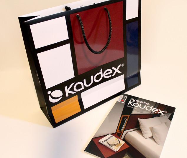 Diseño bolsa y catálogo para expositor