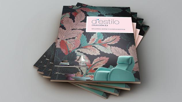 Diseño de catálogo de tapizados