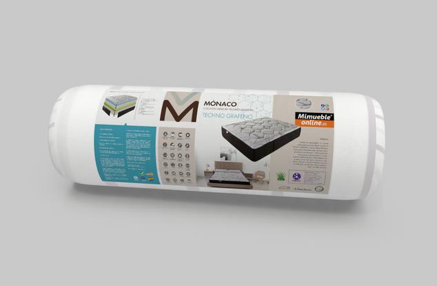 Diseño embalaje colchón