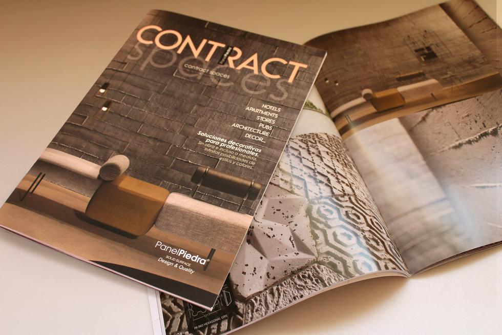 Diseño de revista para contract