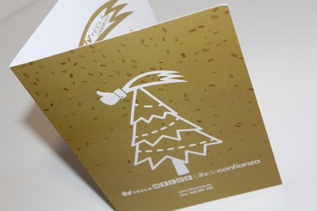 Diseño felicitación navideña