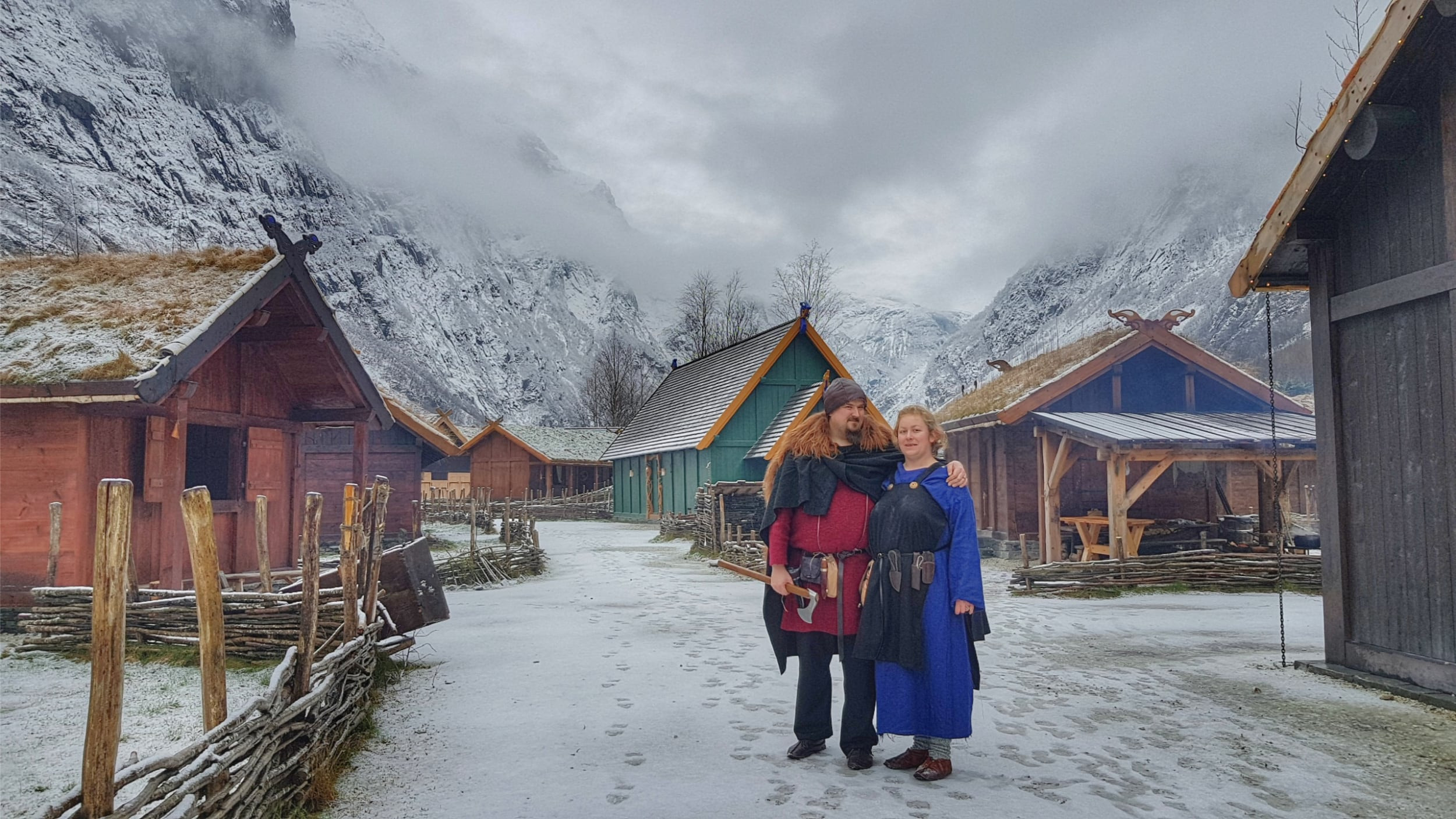 Explore the Viking Valley in Gudvangen