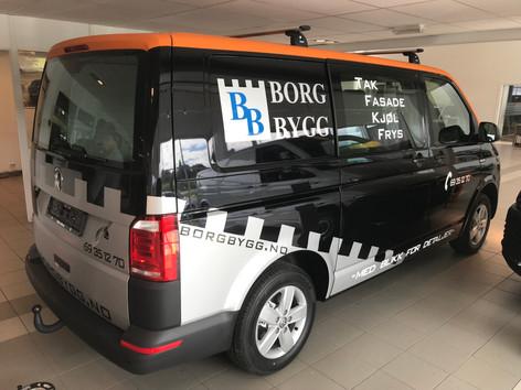 Borg Bygg - Firmadekor