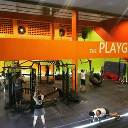 _1st training day in our new PLAYGROUND HIIT Camp_ Energy, dedication, focus..._1o dia de treino no