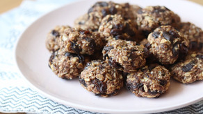 Peanut Butter Banana Chocolate Oatmeal Raisin Cookies (Vegan, Gluten-Free)