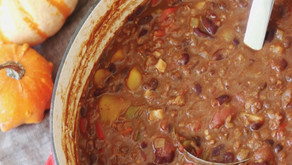 Witch's Harvest Chili (Vegan)