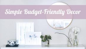 6 Effortless Budget-Friendly Decor Ideas