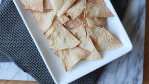 Baked Tortilla Chips (Vegan, Gluten-Free)