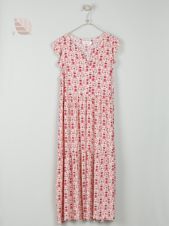 Printed Clara Dress