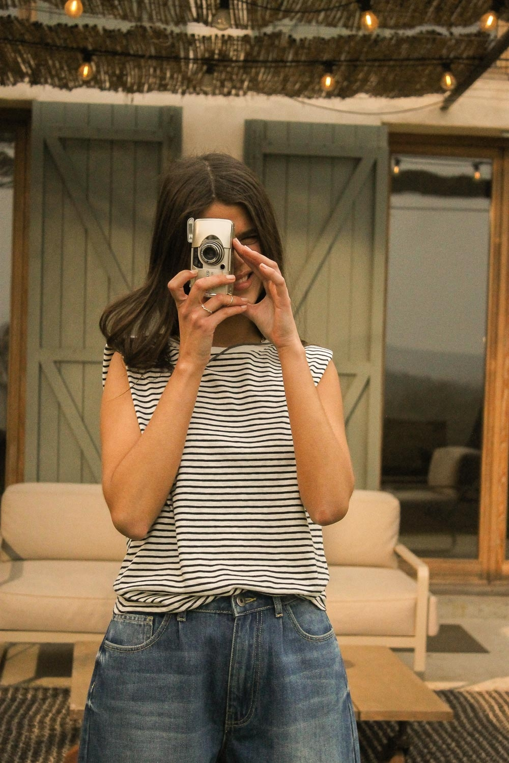 Stripe Brandon Tee