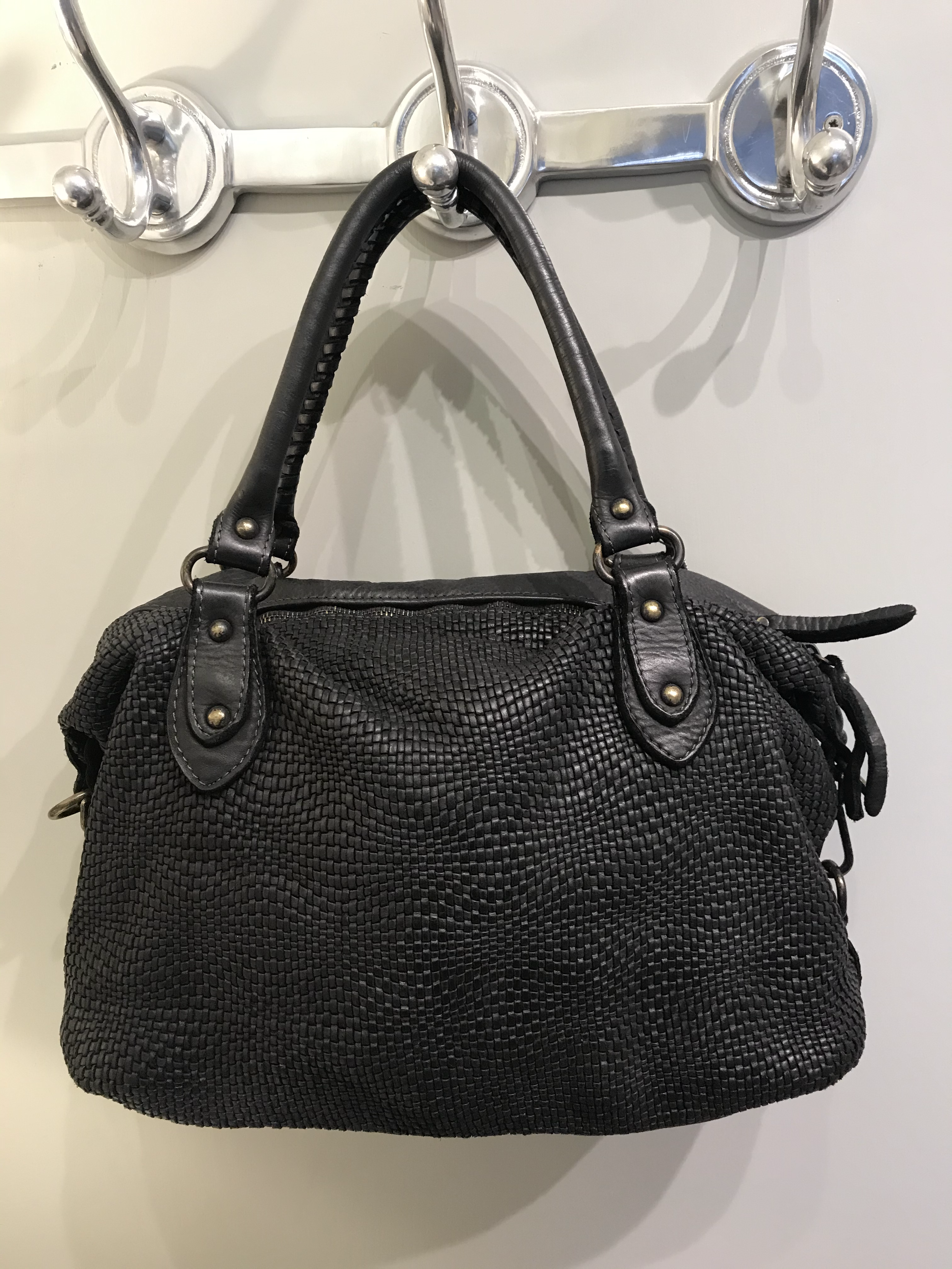 Italian leather bag