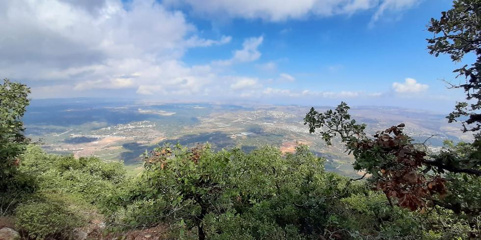 שביל הפסגה  - הר מירון