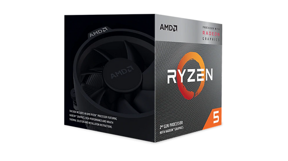 AMD Ryzen™ 5 3400G con Gráficos Radeon™ RX Vega 11
