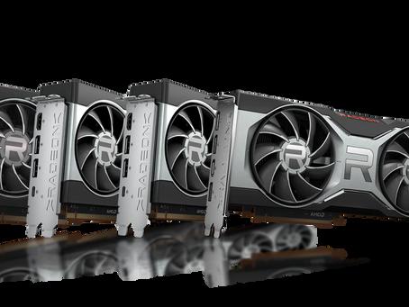 Tarjetas gráficas AMD Radeon serie RX 6000