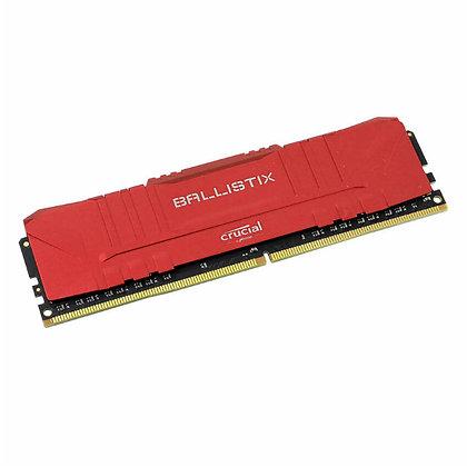 DDR4 8GB PC CRUCIAL BALLISTIX /3200 RED