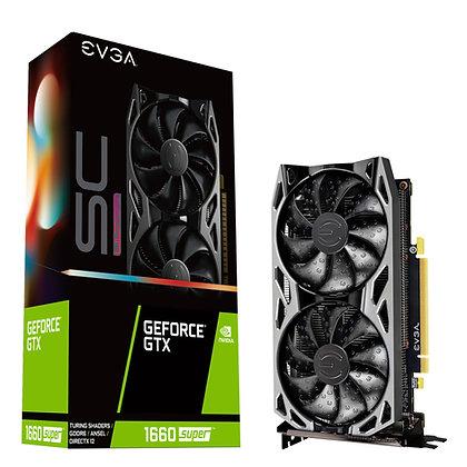 EVGA GeForce GTX 1660 SUPER SC ULTRA GAMING, 06G-P4-1068-KR, 6GB GDDR6
