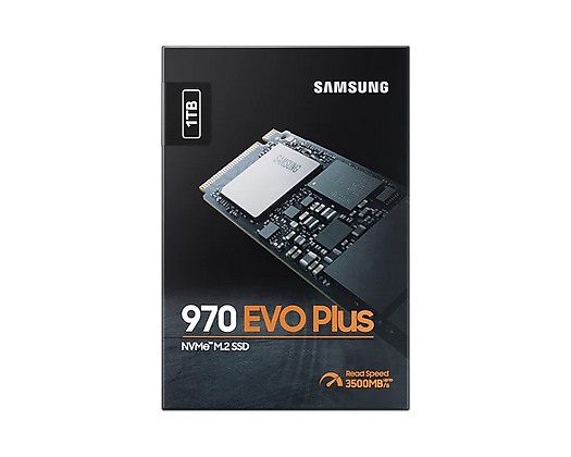 970 EVO Plus NVMe™ M.2 SSD 1TB