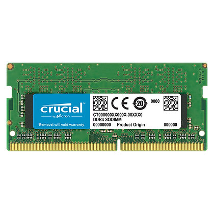 DDR 4 4GB PORTATIL CRUCIAL 2666