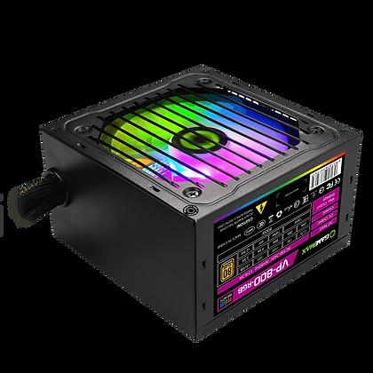 Fuente De Poder Gamemax VP-800-RGB-M