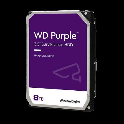 SATA 8TB PC WESTERN DIGITAL PURPURA