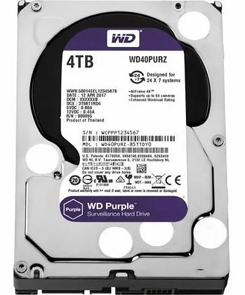 SATA 4TB PC WESTERN DIGITAL PURPURA
