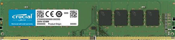 DDR 4 8GB PC CRUCIAL /2666
