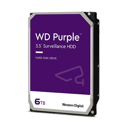 SATA 6TB PC WESTERN DIGITAL PURPURA
