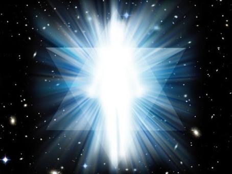 Angeli della Fonte, Un Essere di Luce che attraversa lo spazio senza tempo 22.04.2020