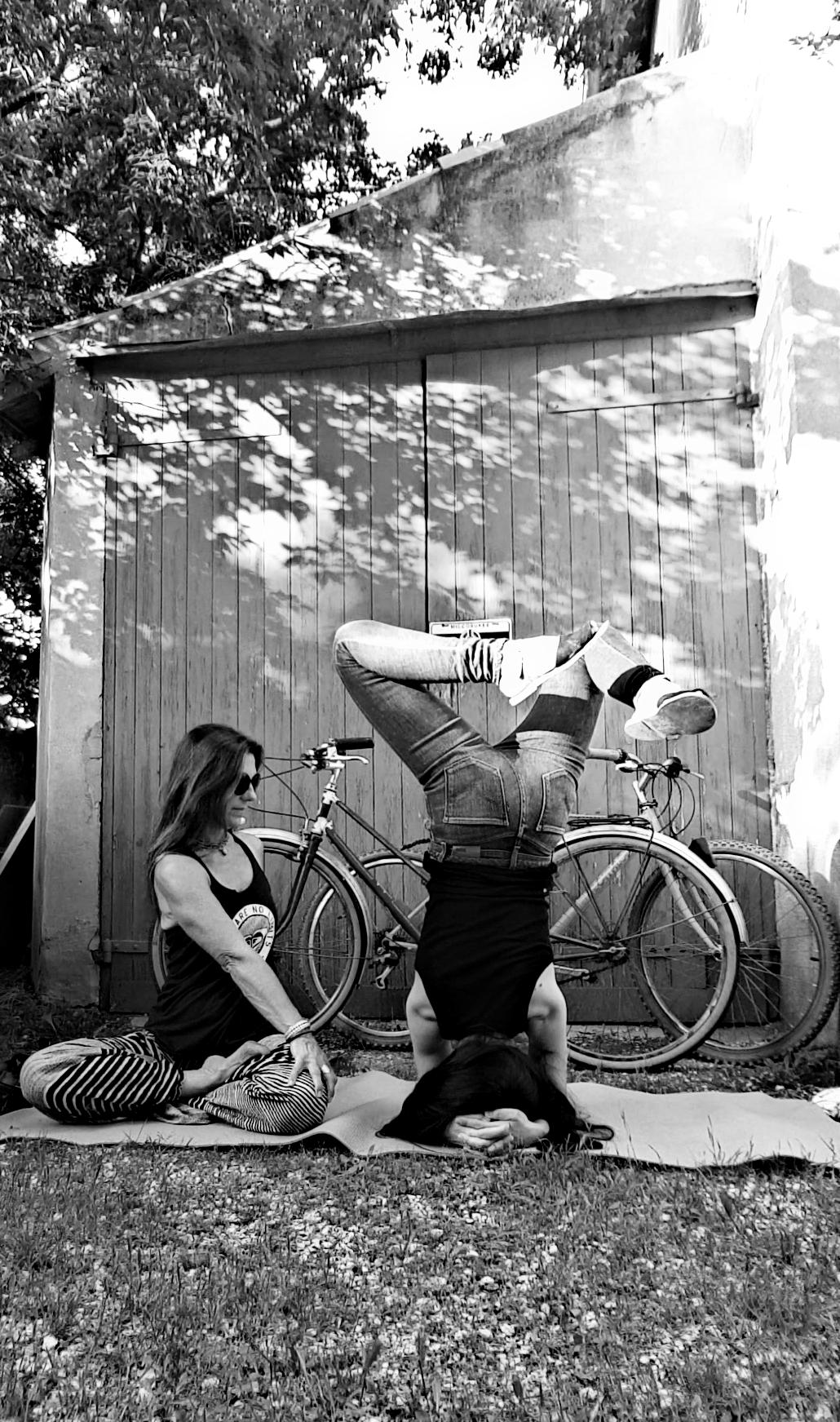 Affiche sortie yoga vélo