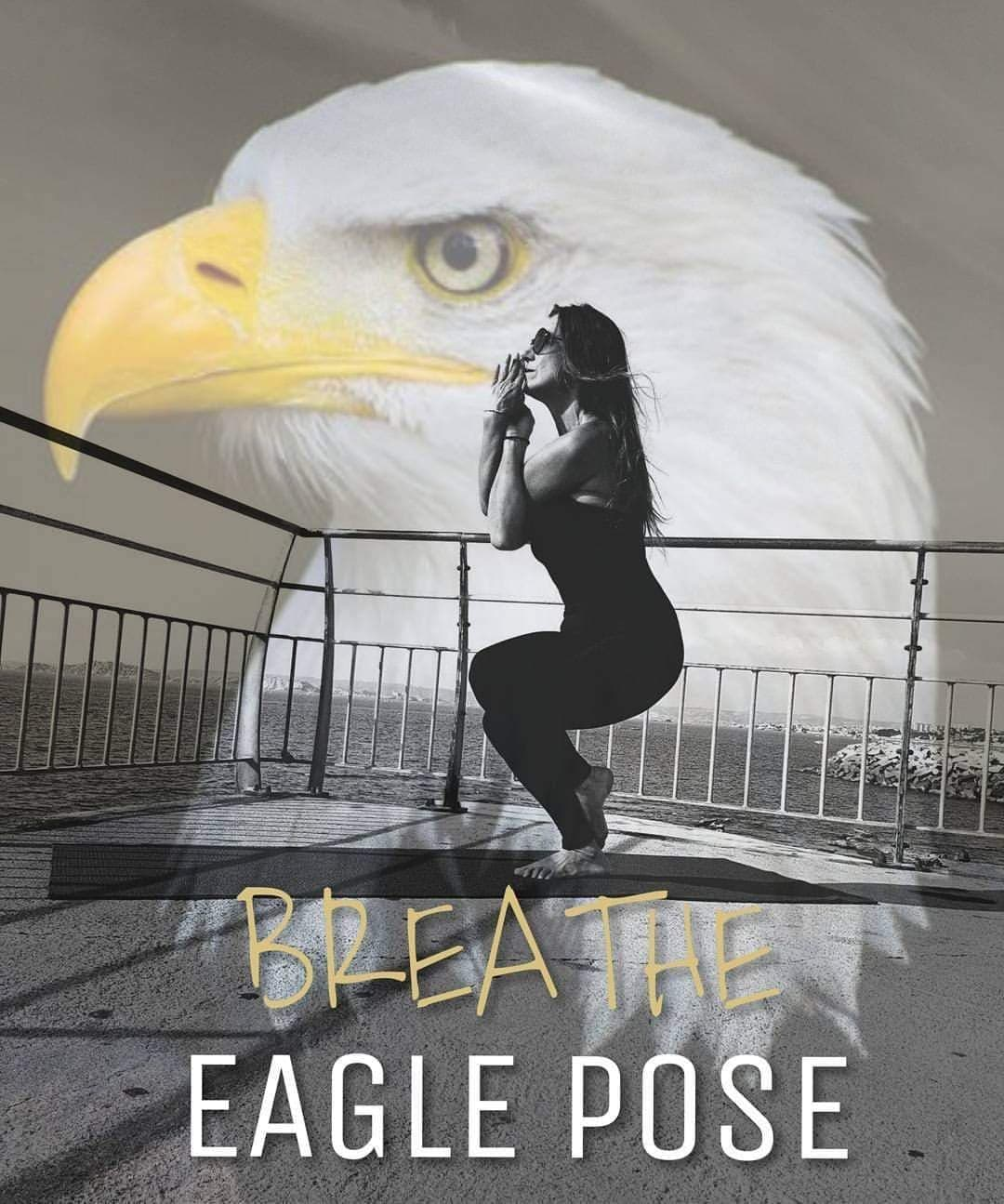 posture de l'aigle