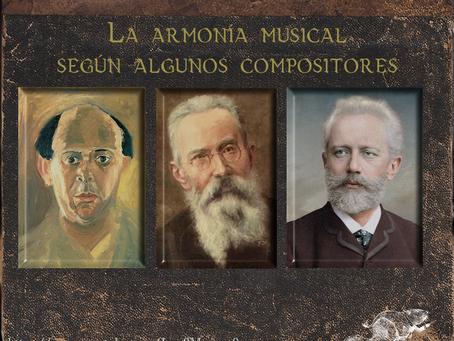 La Armonía, según algunos compositores