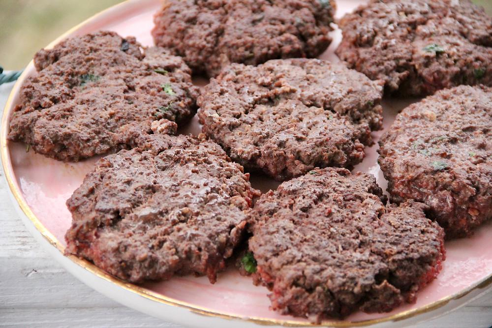 carnivore keto organ meat burgers
