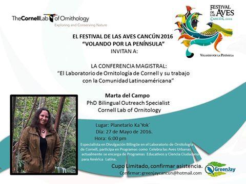 Martha del Campo (Lab Cornell) 6pm