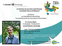 Dr Charles Pigott (Cambridge) 6pm