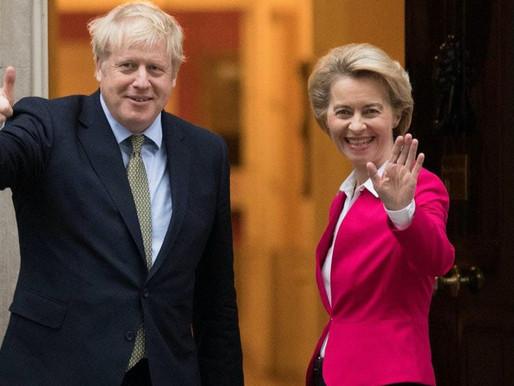 Τα μετά BREXIT trade talks και ο αγώνας για συμφωνία συνεχίζονται..