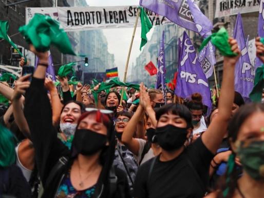 Η Αργεντινή λέει «ναι» στη νομιμοποίηση της άμβλωσης