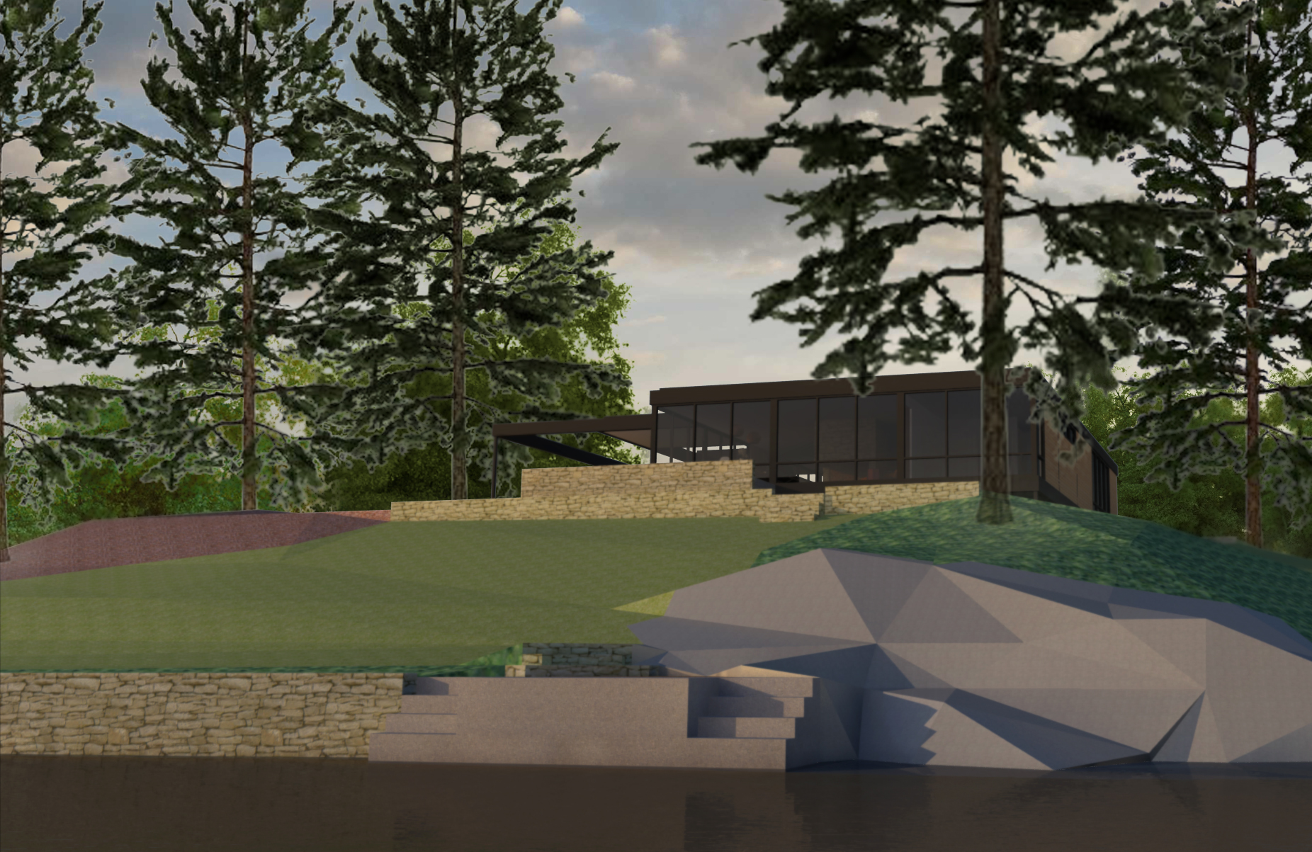 Island Pond Residence