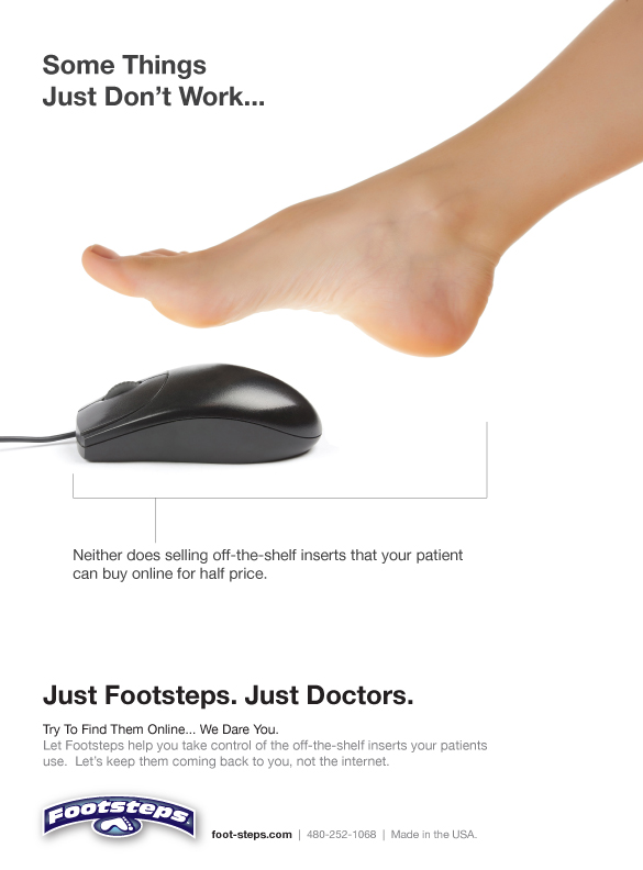 Footsteps Podiatry Today Ad 2