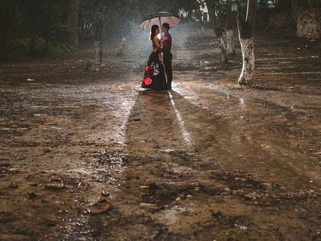 Blog itinerante: ¿Que pasa si llueve?