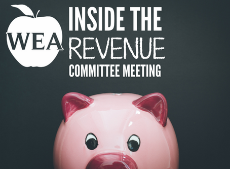 Inside the Revenue Committee Meeting: What It Could Mean for Education
