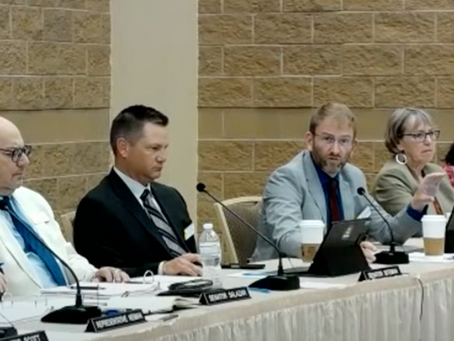 Update From Joint Interim Education Committee Meeting - July 2021