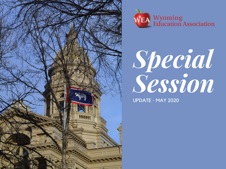 Special Session Update