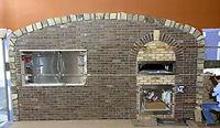 Food City Pizza Oven - Brick Wall