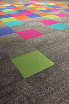 Commercial Carpet - Colorful Carpet Squares