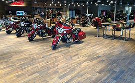 Ceramic Tile - Indian Motorcycle Dealership