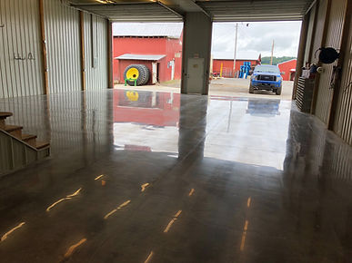 Toth Farm- Concrete Polishing - After