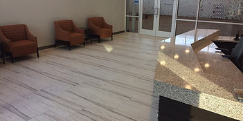 Local Office Building - Ceramic Tile Floors