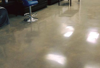 Beauty Parlor- Concrete Polishing - After